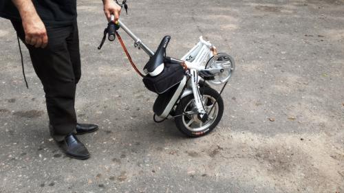 004. Электровелосипед  складной METAI 8.0