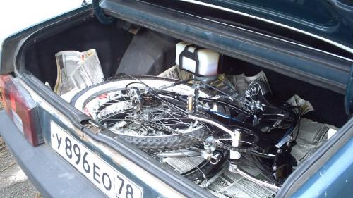 001. Складной мотовелосипед «СТЕЛС 710 – М»