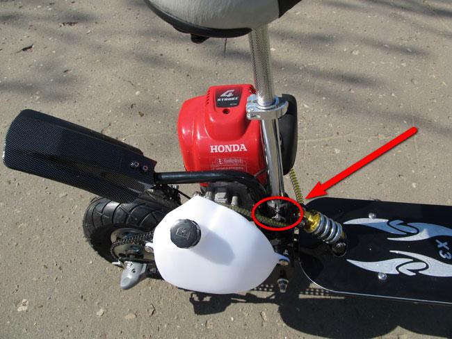 Вы просматриваете фото из раздела: 26.05.16г. Мотосамокаты ИКС-ТРИ Honda GX35